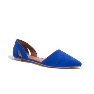 Madewell Suede d'Orsay Flats